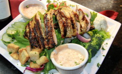 Lemon Herb Grilled Chicken Salad